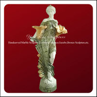 Beautiful Classic Garden Marble Stone Figure Statue