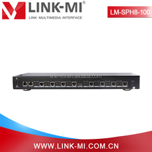 LM-SPH8-100 100m 3D IR HDBaseT HDMI Splitter 1 In 8 Out With RJ45 Output