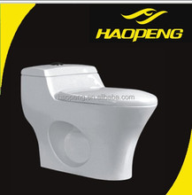 Vitreous China One Piece Water Closets/Bathroom Design Chinese Toilets For Hotel Decorate