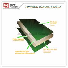 linyi 720x500mm reusable plastic plywood