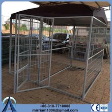 High quality metal or galvanized comfortable wholesale stainless steel large cage for dog