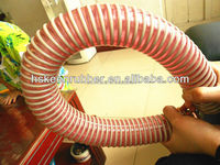 winding ribbed PVC hose Spiral flexible suction hose