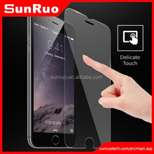 Mirror tempered glass screen protector for iphone 6 iphone 6 plus,supply for iphone 6 mirror screen protector