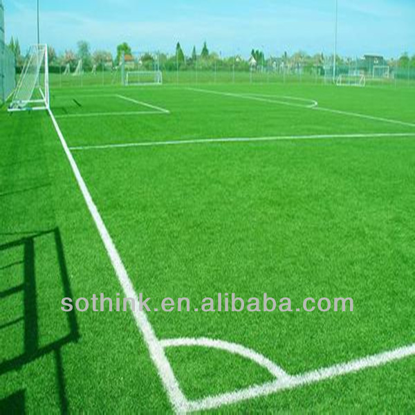 aspetto naturale erba campo da calcio in erba naturale