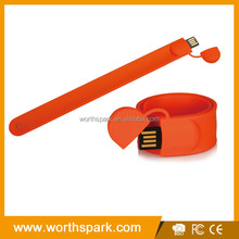 OEM 2GB 4GB 8GB 16GB real capacity fancy custom usb bracelet