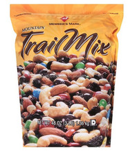 back sealed plastic bag for trail mix/snack bags