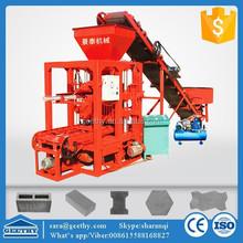 Hot Sale Geethy QTJ4-26 concrete block machinery ,brick making production line