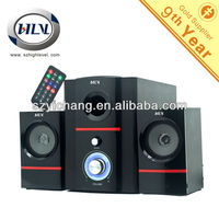 2.1 Channel Multimedia Speakers with USB SD FM Digital Display