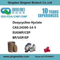High purity Doxycycline powder for horses CAS24390-14-5 EUGMP/CEP Certificate