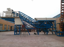 YHZS50 Non-stationary concrete finishing machine concrete -mixing plant