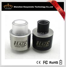 Alibaba express turkey in spanish new arrival e cigs mini haze rda / 1:1 mini haze clone in stock