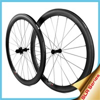 LIGHTCARBON: Carbon Road Bike Wheels Set Clincher With Ceramic Bearing Alloy Hubs,Free Shipping