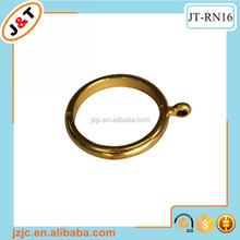 golden plastic curtain ring, plastic curtain eyelet