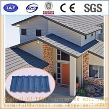prepainted metal roofing/prepaitned steel meta roofing sheet /roof metal