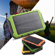 Sunpower solar portable battery charger