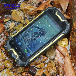 4.5 inch 3G waterproof silicone smart phone android 4.4 with MT6582 and Android 4.2 M8