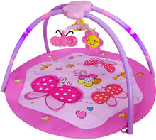 hot sell cotton safe eco-friendly baby play gym mat with EN12790