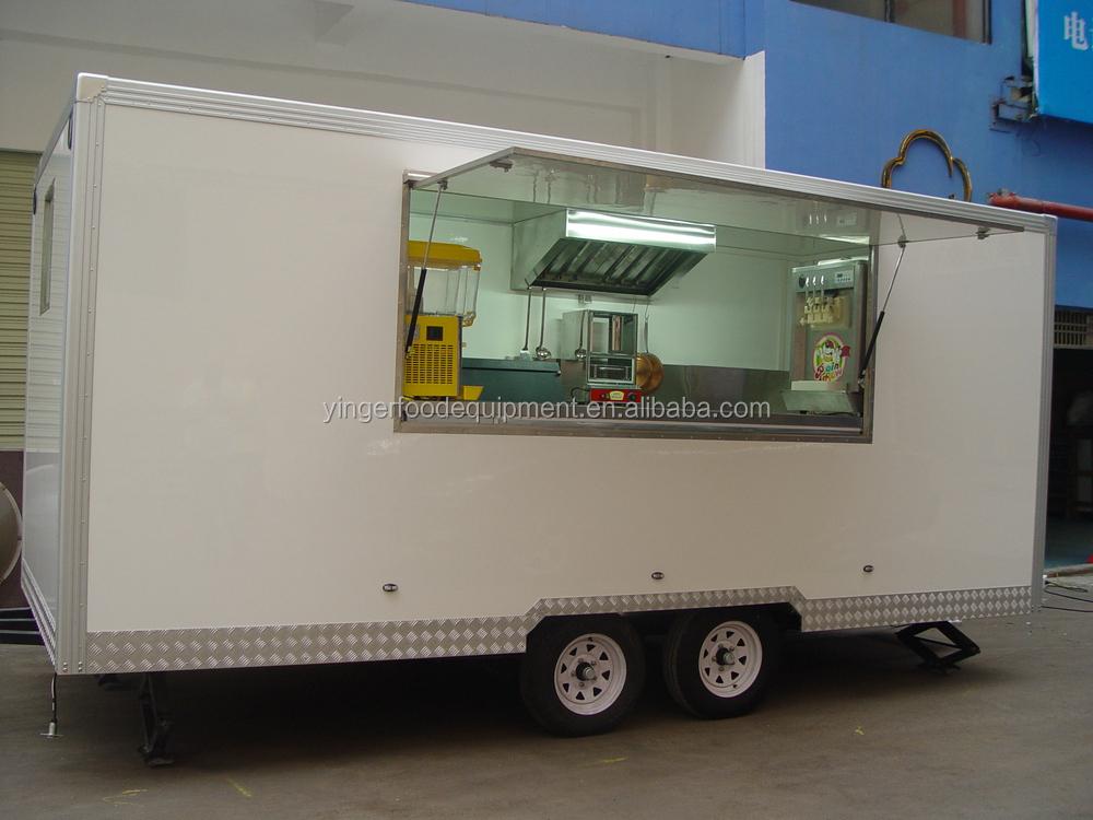 Mobile churros v lo alimentaire cuisine panier kiosque for Remorque cuisine mobile