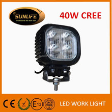 4 inch LED work lamp 18w waterproof LED work light Car accessories IP68 LED headlight for truck LED spot/flood light