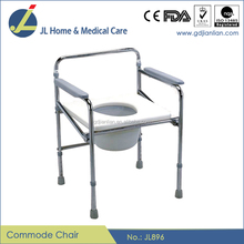 Foshan Manufacture Hot Selling Folding Commode Chair JL896