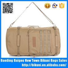Multifunction backpack outdoor canvas waterproof military travel duffle bag