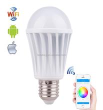 China factory wifi led light bulb adapter wifi bulb