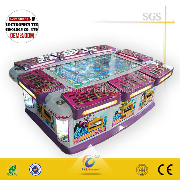 Wholesale fish video gambling game machine metal cabinet for Fish game gambling