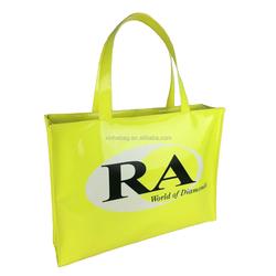 Fashion customized logo beach waterproof PVC bag