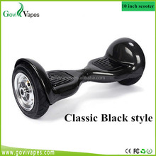 China best quality and Low Price Big wheel 10 inch 2 wheel self balancing electric child scooter