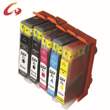 Factory direct sale 564xl compatible ink cartridge for hp photosmart 7520 for South Africa marketing