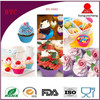 Funny And Multifunctional DIY Silicone Ice Cream Mould And Cup Cake Mold