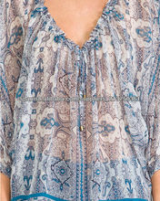YYH top agradable impresa proveedor china blusa