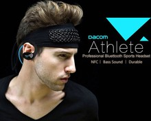 DACOM Athlete NFC Bluetooth Hands Free Sports Earphone Stereo Bluretooth V4.0 In-Ear Headphone with Mic for Tablet PC Smartphone