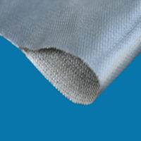 High temperature single side silicone rubber fiberglass fabric and cloth for thermal insulation