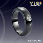 anel de cerâmica de prata, anel de cerâmica, jóias de cerâmica
