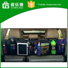 High Quality Biggest Size Hanging Sturdy Car Seat Organizer with Mesh Pockets