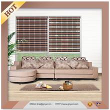 Home Decor Curtain Blinds Polyester Zebra Blind