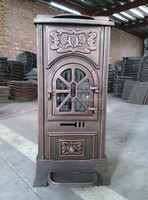 Factory direct selling wood burning stove indoor