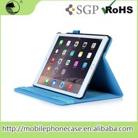 2015 Innovative Products high good quality Design PU Leather Tablet Case For Apple iPad Air 2