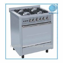 2015 hot sale 60*60cm stainless steel body gas tandoor oven, FFD safety device gas oven, Cast Iron Pan Support freestanding cook
