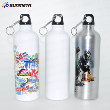 Sunmeta factory supply blank 750ml sublimation aluminum sports bottle(LH-04)