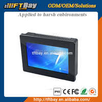 7 inch N2800 rugged 1024X600 industrial panel PC price,industrial embedded panel pc price