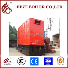 Coal fired solid fuel industrial thermal oil boiler