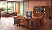 Office Table Decoration Item Luxury Wooden Table(FOHB3L-242)