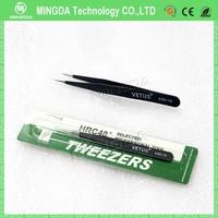 anistatic tainless steel tweezers/ esd electronic tweezer