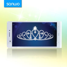 6 inch GSM+WCDMA+GPS Android OS 4.2.2 MTK6589 Cortex A7 OEM android phone quad core 6 inch no brand android phones