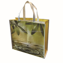 customize warp and weft paper material Printing Surface shopping bag directly from factory
