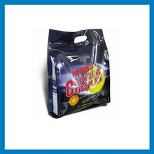 new product plastic handle carry bags fashionable dog food pouch
