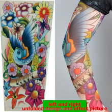 2015 hot sale fabric tattoo sleeve, nylon tattoo arm sleeve