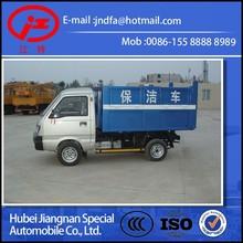 Forland mini garbage truck ro on ro off bin hook lifter garbage truck JNDFA5020